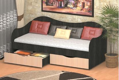 Изображение Кровать с ящиками Бокс